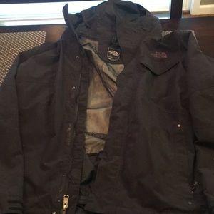 Men's Northface 2 piece winter coat
